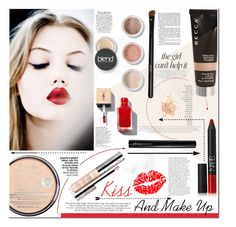 """""""Kiss and Makeup"""" by es-vee ❤ liked on Polyvore featuring beauty, Jennifer Lopez, Becca, NARS Cosmetics, Antonym, Blend Minerals, Rimmel, Eve Lom, By Terry and Victoria Beckham"""