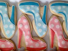 High Heel Shoes Cookies