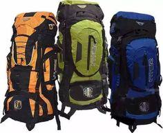 morral camping zero 70 a 90 litros maleta impermeable nuevo Backpacks, Bags, Fashion, Free Market, Raincoat, Colombia, Pictures, Handbags, Moda