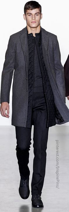 Fall 2013 Menswear Calvin Klein Collection