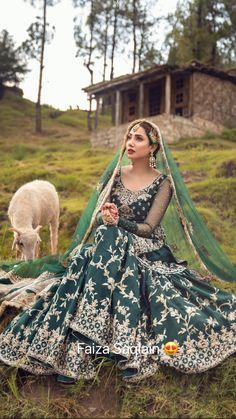 Pakistani Bridal Couture, Pakistani Wedding Outfits, Indian Bridal Outfits, Pakistani Dresses, Pakistani Clothing, Stylish Dresses For Girls, Unique Dresses, Wedding Lehenga Designs, Shadi Dresses