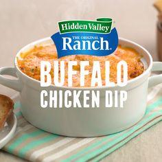 Buffalo Chicken Pizza, Healthy Buffalo Chicken Dip, Buffalo Chicken Dip Recipe, Chicken Dips, Buffalo Dip, Super Bowl Party, Appetizer Dips, Appetizer Recipes, Dessert Recipes
