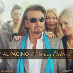 He wrote the songs the world loved. But not the songs he wanted to write.  This spring, there's always a first time for a second chance. Al Pacino is Danny Collins. #DannyCollinsMovie #BleeckerSt