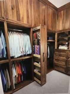 Closet Tie Rack