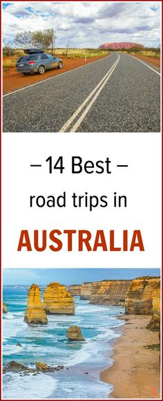Planning to travel in Australia and do some Australian road trips? Here are our 14 best road trips in Australia worth adding to your itinerary. Australia Travel Guide, Australia Tours, Visit Australia, Australia 2018, Vacation Places, Best Vacations, Vacation Trips, Places To Travel, Vacation Ideas