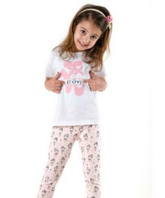 Ballerina leggings and personalised t shirt