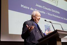 Paris : Jean-Claude Gaudin présente le forum Smart City de Marseille - Politique - via Citizenside France. Copyright : Christophe BONNET - Agence73Bis