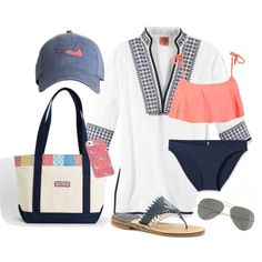 by katehawkins featuring Tory Burch, Patagonia, Roxy, Jack Rogers, Vineyard Vines and J.Crew