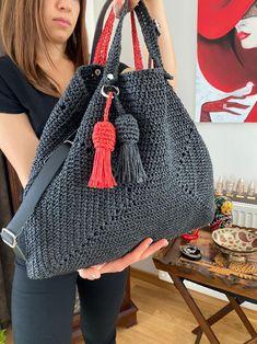 Crochet Hobo Bag, Crochet Clutch, Crochet Shirt, Crochet Handbags, Crochet Poncho, Crochet Purses, Hand Crochet, Easter Gift Bags, Crochet Bag Tutorials