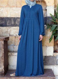 SHUKR UK | Carefree Jersey Abaya Dress