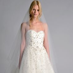 Marchesa Bridal Fall 2014: The Secret Garden