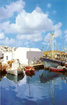 Naousa, Paros island, Greece Photo