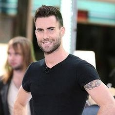 Adam Levine. One of the few who can pull off tattoos! maretie via http://pinterest-images.blogspot.com/