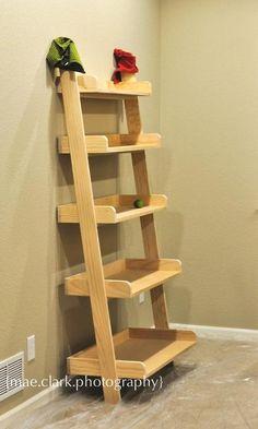 Leaning Wall Shelf tutorial
