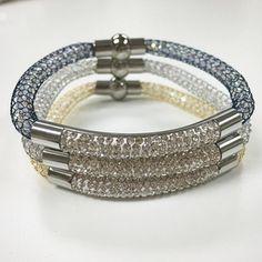 Bracelets By Vila Veloni Delicate Silver Zirconia