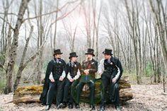 Tim Burton Wedding | Mountain Springs Lake Resort | http://www.darkershadesofbrown.com/tim-burton-wedding-mountain-springs-lake-resort/