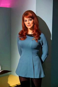 McKennah (Michele Specht) pioneering the roll of ship's counselor on the fan series, Star Trek Continues. Star Trek Cosplay, Star Trek Tos, Star Wars, Star Trek Continues, Star Trek Uniforms, Star Trek Images, Star Trek Characters, Divas, Star Trek Original