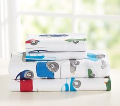 Shop boys' sheets at Pottery Barn Kids in prints that they will love. Find boys' sheets in prints ranging from trucks and car to dinosaurs and more. Boys Room Decor, Boy Room, Race Car Nursery, Baby Furniture, Quilt Bedding, Pottery Barn Kids, Sheet Sets, Race Cars, Racing