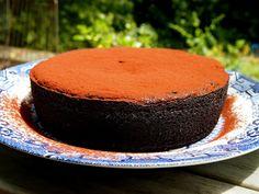 boiled orange chocolate cake