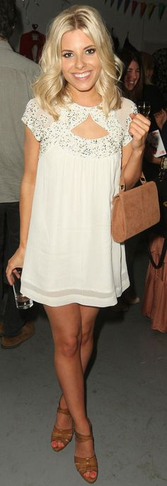 The Saturdays' Mollie King has been rocking a gorgeous shorter ha