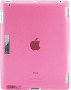 Luardi Crystal Clear Snap On Back Cover for the New iPad Pink - via eBags.com! #PickPink