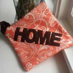 Orange You Glad to be Home Pot Holder
