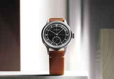 Longines - Heritage Classic with Black Sector Dial | Time and Watches | The watch blog Alain Silberstein, Romain Jerome, Favre Leuba, Apple Watch 1, Watch Blog, Dress Watches, Richard Mille, Hand Watch, Elegant Watches