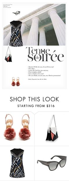 """""""TENUE DE SOIRÉE"""" by paint-it-black ❤ liked on Polyvore featuring Aquazzura and Tom Ford"""
