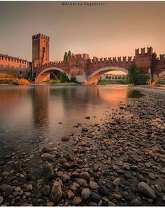 Castelvecchio in Verona - Veneto, Italy.