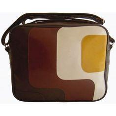 Retro bag - Skyline - Layers - brown - 980 Kč