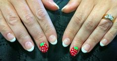 🍓Berry nails