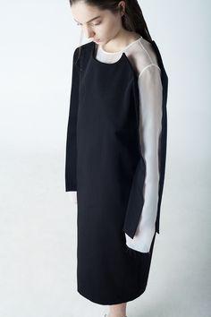 Contemporary Fashion - tailored dress; innovative pattern cutting // Tiko Paksashvili Fall 2015