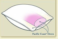 Pacific Coast Grand Embrace Pillow - Queen by Pacific Coast. $109.99. Our patented Grand Embrace pillow design combines the softness and adjustability of 600 fill power down with the support you need in a down pillow. An internal sleeve concentrates down for enhanced support through the heart of the pillow, where you rest your head. This sleeve is then surrounded by more down for enveloping comfort. Covered in 500 thread count 100% Egyptian cotton selected for its long-ter...
