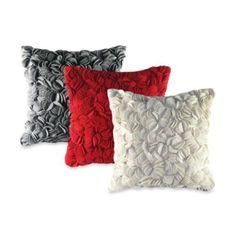 Felt Wafer Square Throw Pillow - BedBathandBeyond.com