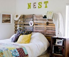 Tired of your Headboard? Creative Alternatives for your Bedroom - Home Decorating Trends