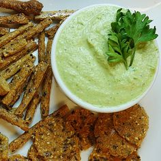 Use up your herb harvest to whip together this creamy herb dip recipe in under five minutes and serve it as a dip or use it as a spread for your favorite wraps. data-pin-do= Egg Free Recipes, Dip Recipes, Vegan Recipes, Snack Recipes, Cooking Recipes, Vegan Meals, Recipes Dinner, Appetizer Dips, Vegane Rezepte