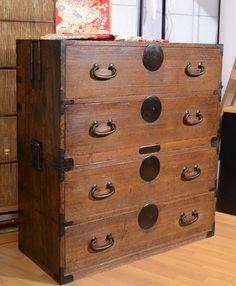 JKAGU Japanese furniture - clothing chest
