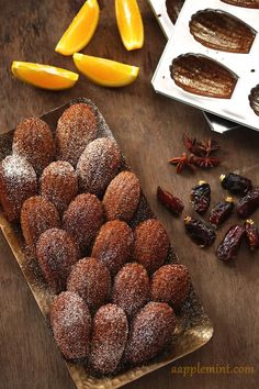 Ramadan Madeleines... as I love dates, think this will be my next favorite recipe!