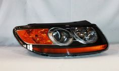 Hyundai Santa Fe Replacement Headlight Assembly  Passenger Side ** Continue to the product at the affiliate link Amazon.com.