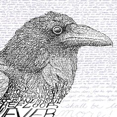 The Raven - Edgar Allan Poe from Art of Words