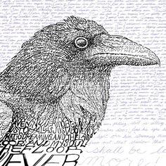 The Raven - Edgar Allan Poe from Art of Words