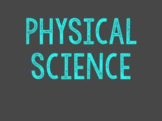 Physical Science Board (K-6)