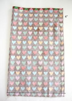 Diary of a Quilter - a quilt blog: Easy Fat Quarter Drawstring Bag Tutorial