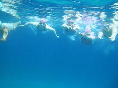 Underwater love (of swimming!)