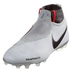 Nike Junior Phantom Vision Elite DF FG Firm Ground Soccer Cleat - Pure  Platinum Black Light Crimson Dark Grey  4ad8d472dfcca