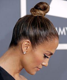 Jennifer Lopez, top knot