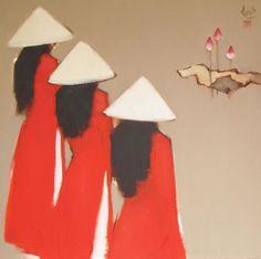 pintura vietnamita de Nguyen Thanh Binh Artes:
