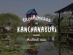 Treehouse In Erawan, Kanchanaburi, Thailand