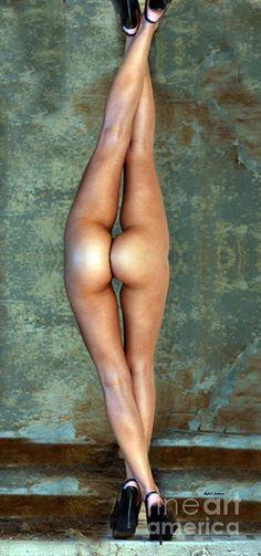 Just Legs Digital Art by Rafael Salazar