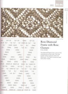 rose diamond lace